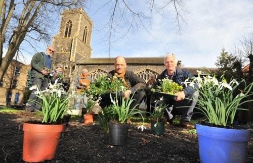 st margarets bulb planting for The Heavenly Gardens
